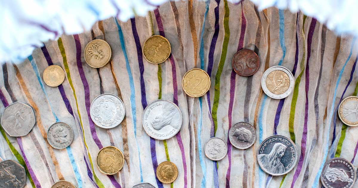 Coins are an excellent heirloom gift idea