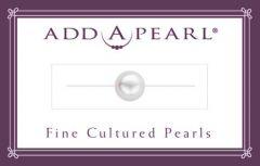 8mm Cultured Pearl on a Classic Add-A-Pearl Card C8 Cultured Pearl