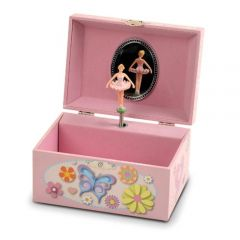 Butterfly and Ballerina Keepsake Box