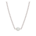"""Natural Starter Necklace (1) 2.7 mm on a 16"""" S Original chain N2.7 SS"""
