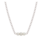 "Natural Starter Necklace (1) 3.1 mm ,(2) 2.3 mm on a 16"" w/g Original chain N(1)3.1(2) 2.3 SW"