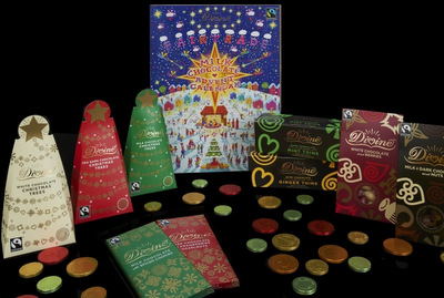 Add-A-Pearl Christmas Gifts and Traditions for Baby's First Year, Divine Chocolate Advent Calendar