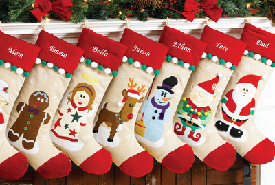 Add-A-Pearl Christmas Gifts and Traditions for Baby's First Year, Merry Stockings