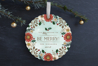 Add-A-Pearl Christmas Gifts and Traditions for Baby's First Year, Minted Customized Cards