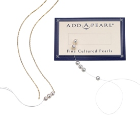 necklaces and Add-A-Pearl card