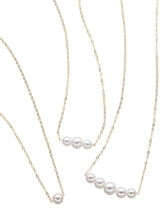 Add-A-Pearl necklaces can be customized for the special someone.