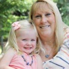 Carol Ellis and her granddaughter Gemma