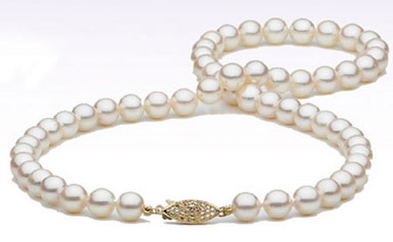 Add-A-Pearl pearl necklace