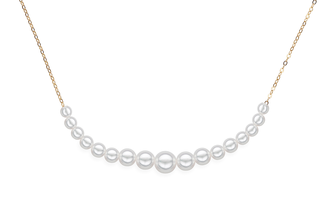 multi-pearl necklace