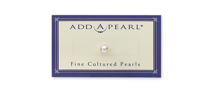 additional pearls on a card